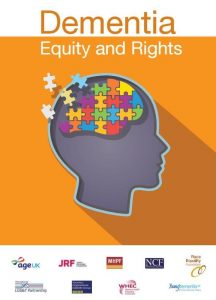This report is the product of collaboration between Age UK, Joseph Rowntree Foundation, Mental Health Providers Forum, National Care Forum, Race Equality Foundation, National LGB&T Partnership, Voluntary Organisations Disability Group, Women's Health and Equality Consortium, and Young Dementia UK